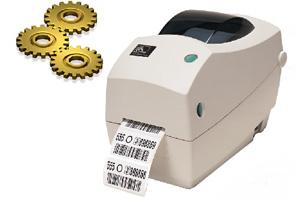 Подключение и настройка принтера этикеток