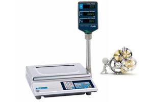 Подключение и настройка электронных весов